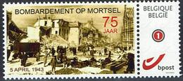 Belgien 2018 - Bombardierung Von Mortsel - Bombing Of Mortsel 05.04.1943 - MiNr 4228** - WW2 (II Guerra Mundial)