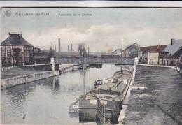 Marchienne Au Pont, Passerelle Sur La Sambre, Péniches (pk78627) - Charleroi