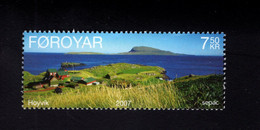 1218554026 2007 SCOTT 491 (XX)  POSTFRIS  MINT NEVER HINGED EINWANDFREI  - HOYVIK - Färöer Inseln