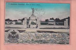OLD POSTCARD -    HAITI - PORT AU PRINCE - MONUMENT DESSALINES - Haiti