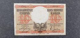 Albania / Albanien 10 Lek 1940  /21.04 - Albania