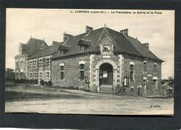 CPA - CAMPBON - Le Presbytère, La Mairie Et La Poste - Other Municipalities