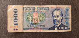 Czechslovakia / Tschechoslowakei 1000 Korun 1985  /21.04 - Czechoslovakia