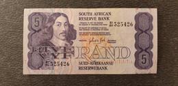 South Africa / Südafrika 5 Rand  /21.04 - South Africa