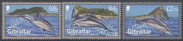 Gibraltar 2014  Micheln° 1622-1624  ***  MNH Faune Marine Dolphins - Gibraltar