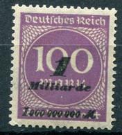 Deutsches Reich - Mi. 331 ** - Neufs