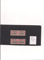 Ruanda Urundi  COB 77/78 MNH + Oblitéré En Paire Horizontale - 1923-44: Neufs