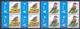 Belgie - 2008 - OBP - ** 3749/3750 - Blok Van Vier - Heggemus - Notenkraker ** A. Buzin - 1985-.. Birds (Buzin)