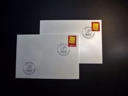 Belgie - Belgique - 2006 - OPB 3527/28 -  Belgica-  2 Enveloppes Afgestempeld  13.05.2006 Nieuwpoort - Oblitérés