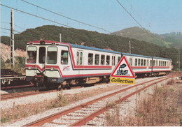 Automoteur CAF 3515-6515, Train Bilbao - San Sebastian à Zumaya (Espagne) - - Eisenbahnen