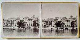 PHOTO STÉRÉO. CASSIS - Vue Du Port - Format 6 X 13 - Tbe - Stereoscopio