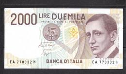 ITALIA  - 2000  LIRE  MARCONI  31/01/1980  SERIE EA °°° - 2000 Lire