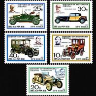 🚩 Sale - Korea 1986 Car History  (MNH)  - Cars - Automobili