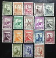 Portuguese Guinea, Full Set **MINT Condition, « IMPERIO COLONIAL PORTUGUÊS », 1938 - Guinea Portuguesa