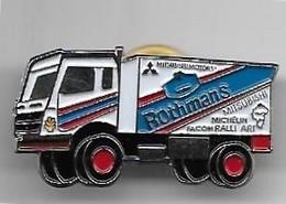"""PIN'S - Camion """"Rothmans"""" - Mitsubishi"""