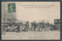 CPA 84 - Le Mont Ventoux, Courses D'automobiles - La Terrasse De L'observatoire - Andere Gemeenten