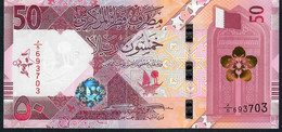 QATAR NLP 50 RYALS 2020 Issued 18.12.2020  UNC. - Qatar