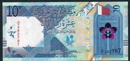 QATAR NLP 10 RYALS 2020 Issued 18.12.2020  UNC. - Qatar