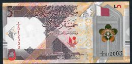 QATAR NLP 5 RYALS 2020 Issued 18.12.2020  UNC. - Qatar