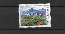 1989 MNH Iceland, Michel 706 Postfris** - Unused Stamps