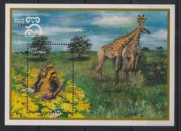 Gambia - 1999 - Bloc Feuillet BF N° Yv. 411 - Papillons / Butterflies - Neuf Luxe ** / MNH / Postfrisch - Butterflies