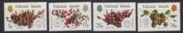 Falkland Islands 1983 Native Fruits 4v ** Mnh (51431B) - Islas Malvinas