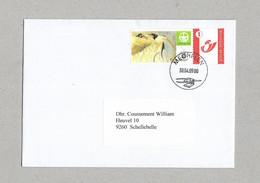 Natuurpunt - Mechelen (op Enveloppe, Met Afstempeling 30/04/2009) - Sellos Privados