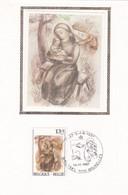 Carte FDC Soie 2269 Noël Et Nouvel An Sainte Famille - 1981-90