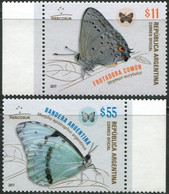ARGENTINA 2017 Butterflies Butterfly Insects Animals Fauna MNH - Mariposas