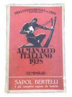 Lotto 4 ALMANACCO ITALIANO BEMPORAD FIRENZE 1924 1926 1928 1034 ANNUARIO - Old Books
