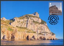GIBRALTAR (2016). Carte Maximum Card - Gorham's Cave UNESCO World Heritage Site, Cueva, Patrimonio, Höhle, Grotte - Gibraltar