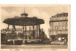 LORIENT  Place Alsace Loraine Et Entree De La Rue Victor Masse - Lorient