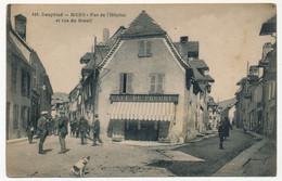 CPA - MENS (Isère) - Rue De L'Hôpital Et Rue Du Breuil - Mens