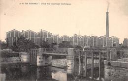 RENNES - Usine Des Tramways électriques - Très Bon état - Rennes