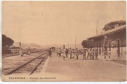 Algérie TELERGMA  Souvenir De Manoeuvre (La Gare) - Andere Städte