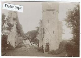 PONT-AVEN (29) - Château De Rustéplan - Photo Fin 19ème Début 20ème - 11.2 X 7.8 Cm Environ - Plaatsen