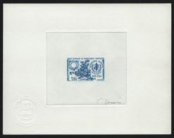 TAAF 1968 - Mi-Nr. 44 - Epreuve D'Artiste - Blue - Imperforates, Proofs & Errors