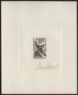TAAF 1976 - Mi-Nr. 107 - Epreuve D'Artiste - Brown - Imperforates, Proofs & Errors