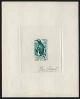 TAAF 1976 - Mi-Nr. 108 - Epreuve D'Artiste - Green - Imperforates, Proofs & Errors