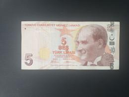 TURQUIE 5 LIRASI 2009 - Turkije