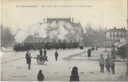ALBI: Place Du Manège Et Gare D'intérêt Local - 120 édit.Corbière - Albi