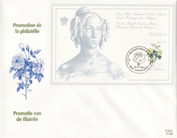 Enveloppe FDC 2320 Bloc 65 Rose Reine Louise-Marie Gentbrugge - 1981-90