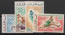 Mauritanie - 1968 - Poste Aérienne PA N°Yv. 73 à 76 - Olympics 68 - Neuf Luxe ** / MNH / Postfrisch - Mauritanië (1960-...)