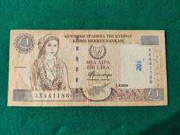 Cipro 1 Lirs 2004 - Cyprus