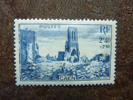 1945  Caen église Saint Jean     Y&T = 746  ** MNH - Neufs