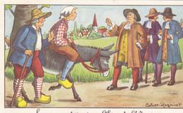 14   EDIT CALVET ROGNIAT FABLES ET LEGENDES  DE LA FONTAINE - 5 - 99 Postkaarten