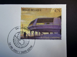 Belgie - Belgique - 2007 - OPB 3661 - De Zuidpool - 1 Enveloppe Afgestempeld  16.06.2007 Genk - Gebraucht