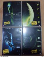 Alien I - II - III - IV - Fantascienza E Fanstasy