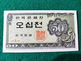 Corea Del Sud 50 JEON 1962 - Korea, South