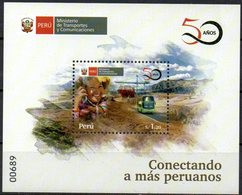 Peru 2020 ** Creación Ministerio Transportes Y Comunicaciones. 50 Years Creation Ministry Of Transport And Communication - Peru